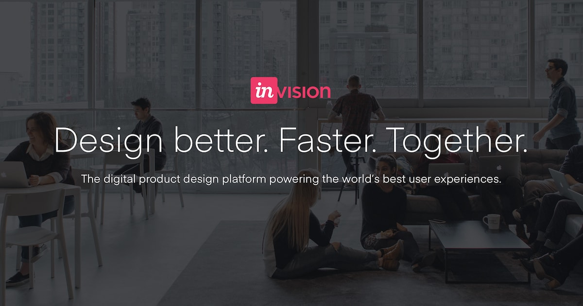 Invision Digital Product Design Workflow Collaboration